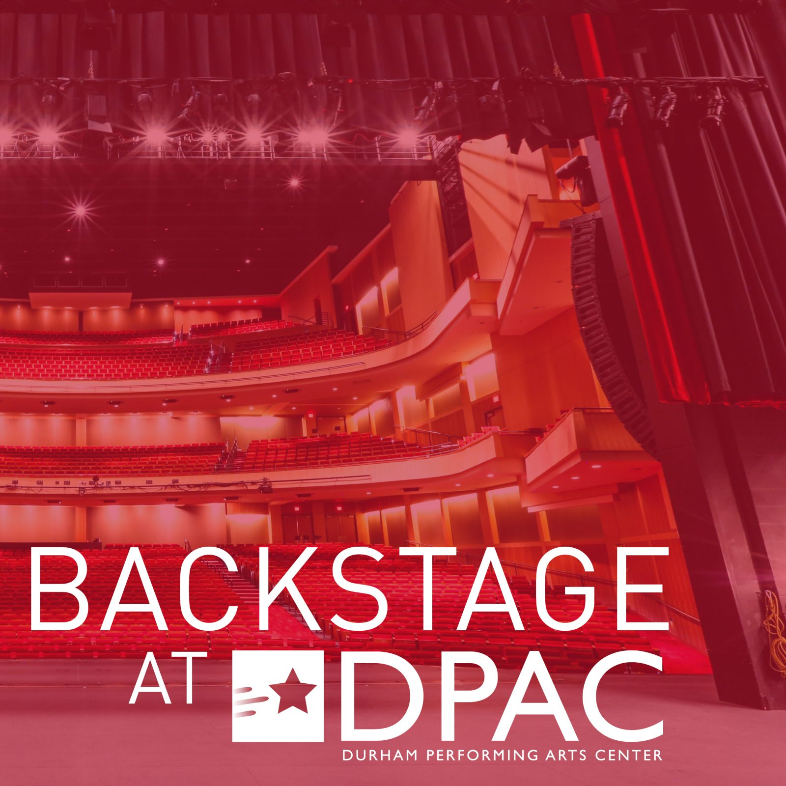 Backstage at DPAC Podcast
