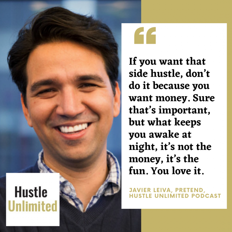 Javier Leiva on Hustle Unlimited Podcast
