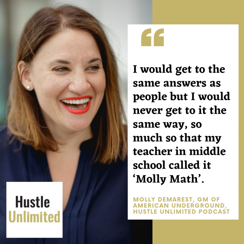 Molly Demarest American Underground Hustle Unlimited
