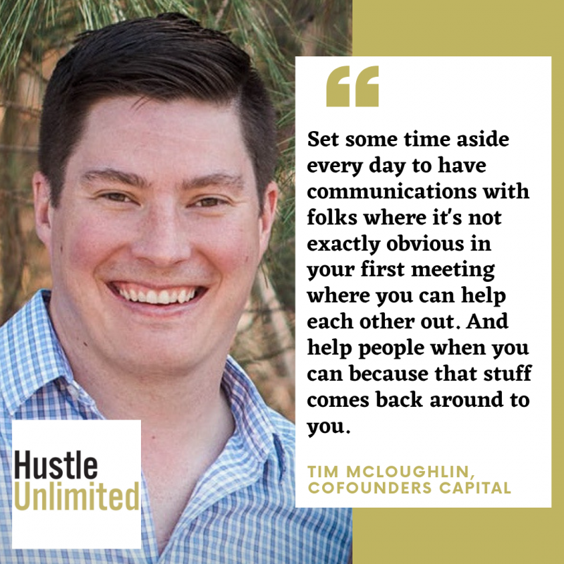Tim McLoughlin on Hustle Unlimited Podcast