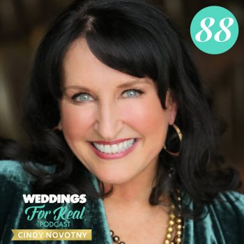 Cindy Novotny Weddings for Real Podcast