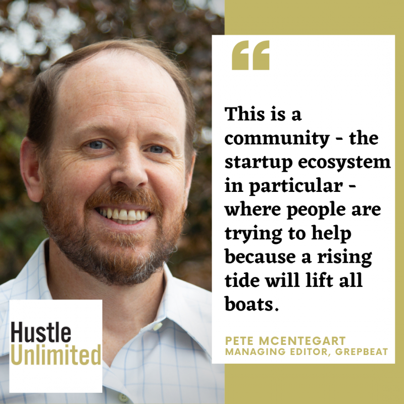 Pete McEntegart Grepbeat Hustle Unlimited Podcast
