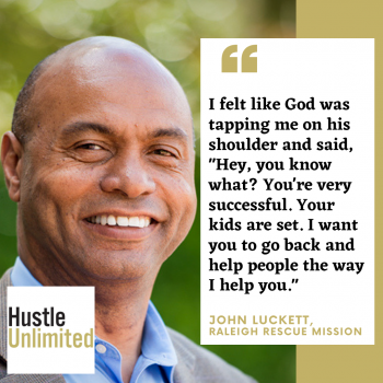 John Luckett on Hustle Unlimited