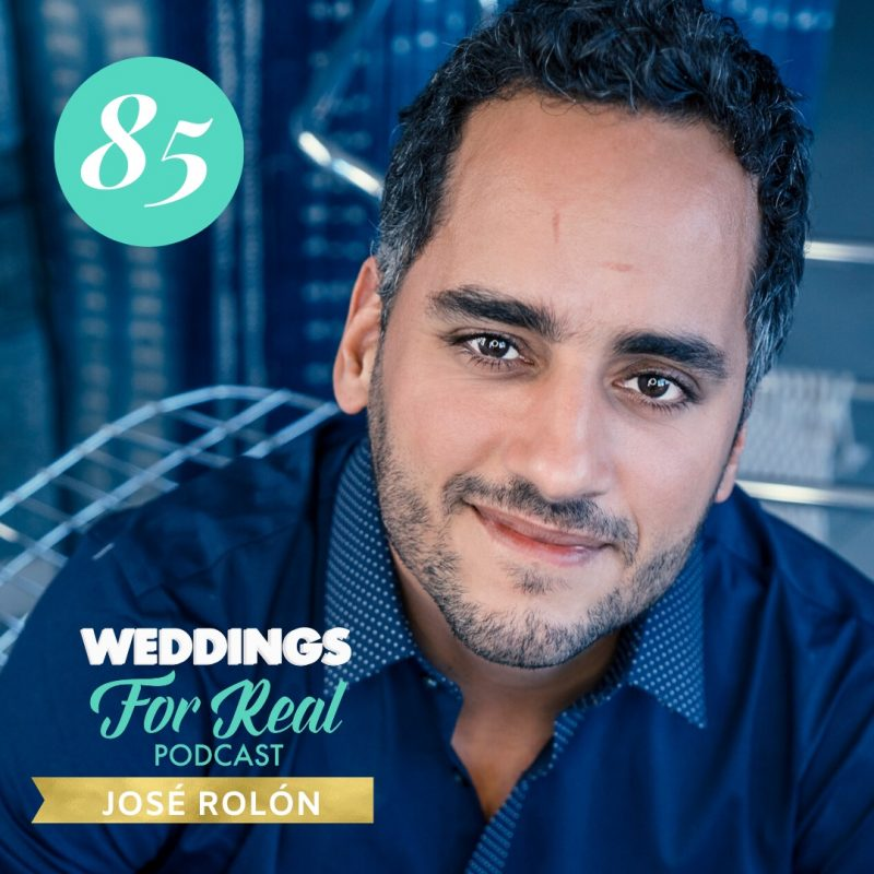 Jose Rolon on Weddings for Real Podcast