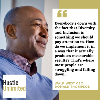 Diversity and Inclusion Consultant Donald Thompson