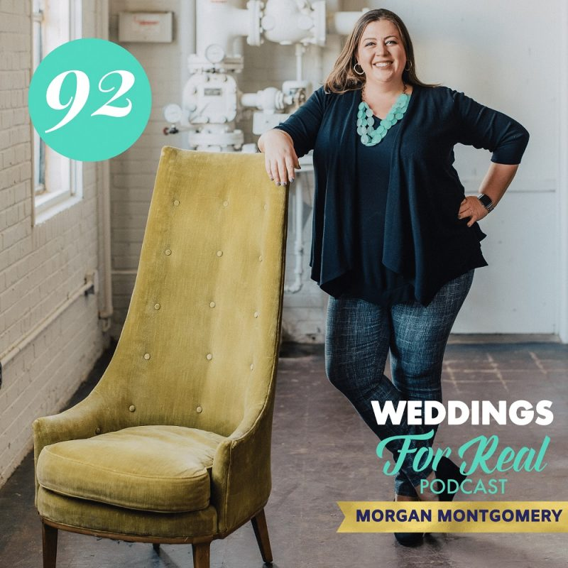 Morgan Montgomery Paisley and Jade on Weddings for Real Podcast