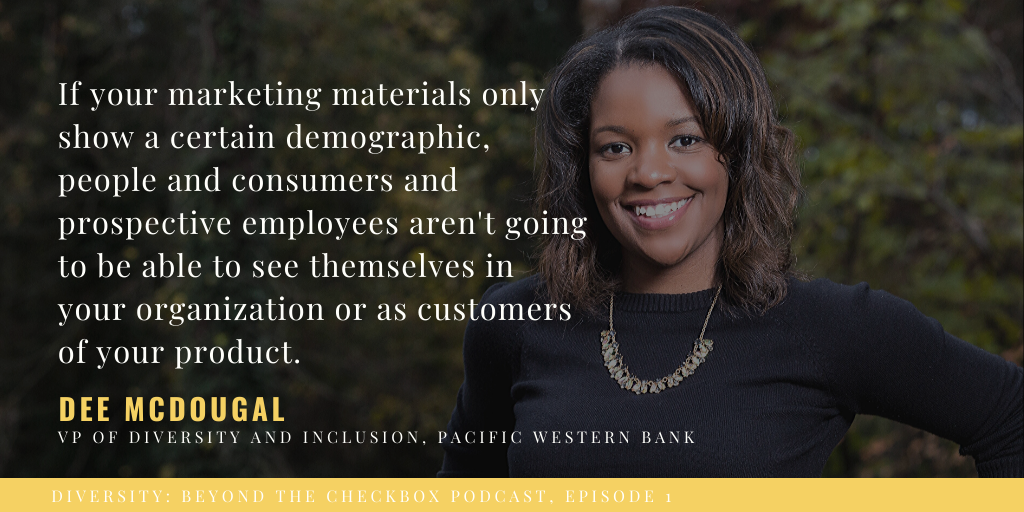 Dee McDougal, Senior VP Diversity and Inclusion, Pacific Western Bank