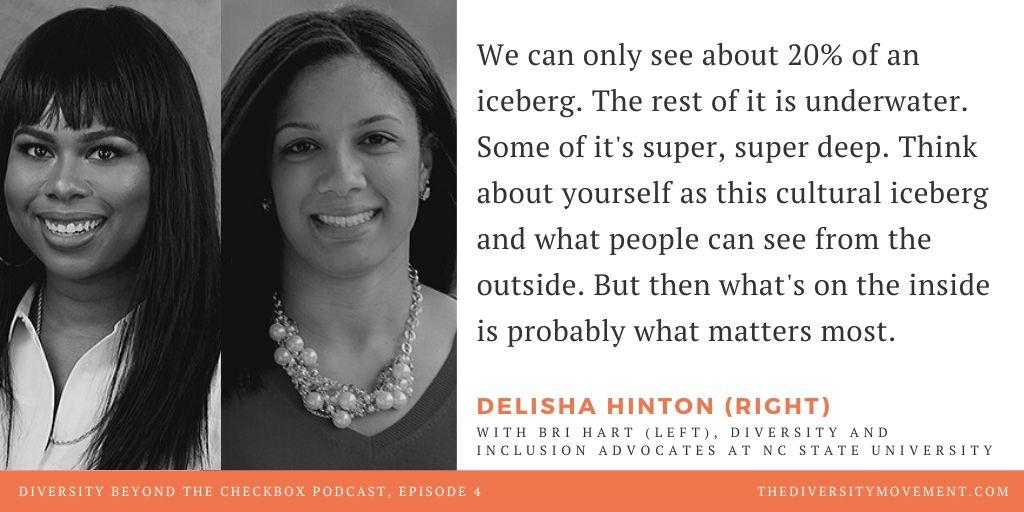 Bri Hart Delisha Hinton Diversity Beyond the Checkbox Podcast
