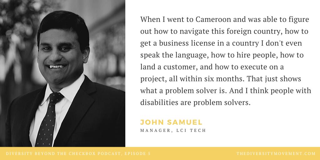 John Samuel Diversity Beyond the Checkbox