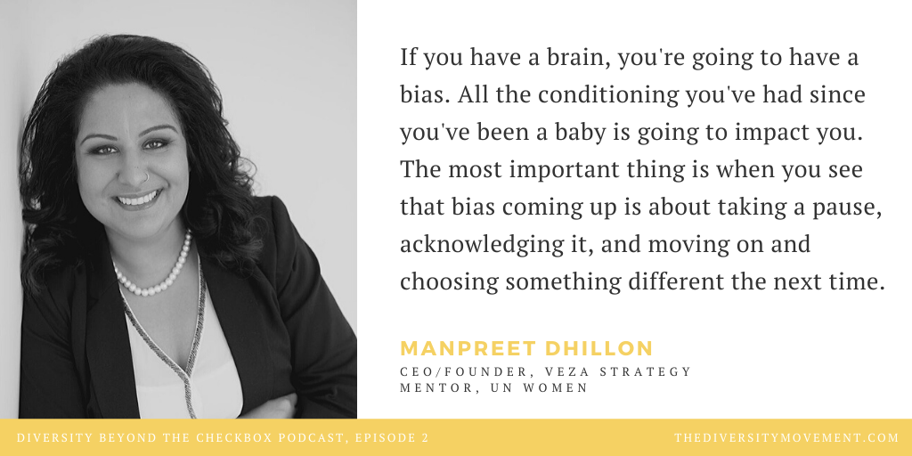 Manpreet Dhillon Veza Strategy Diversity Beyond the Checkbox Podcast