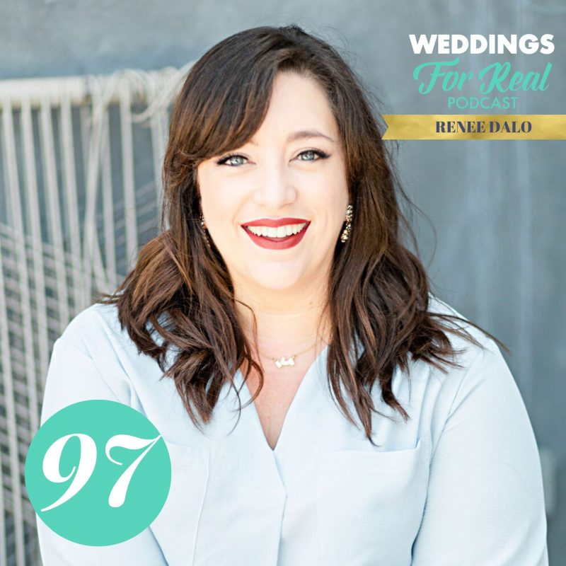 Renee Dalo on Weddings for Real Podcast