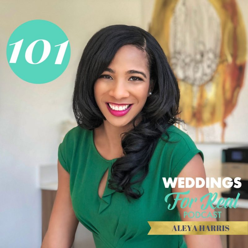 Aleya Harris on the Weddings for Real Podcast