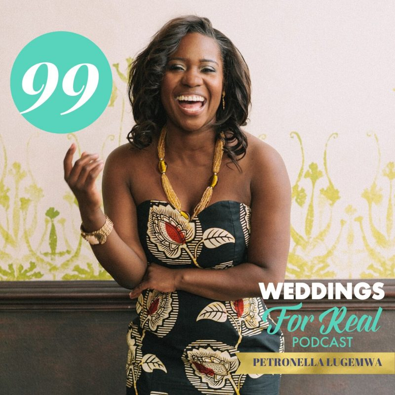Petronella Lugemwa on the Weddings for Real Podcast