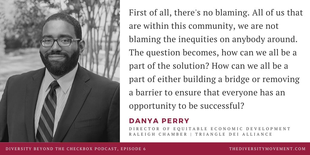 Danya Perry on Diversity Beyond the Checkbox Podcast