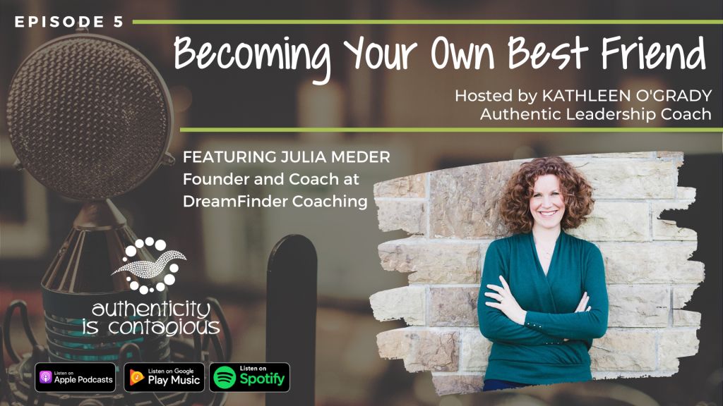 Julia Meder on the Authenticity is Contagious Podcast