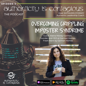 Alaina Money-Garman on Authenticity is Contagious Podcast