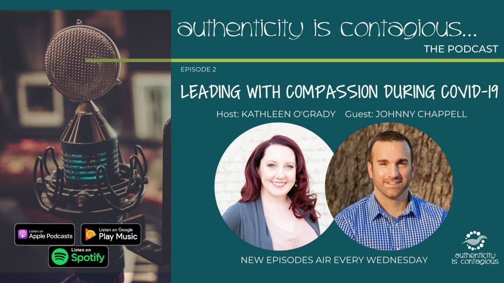 Johnny Chappell on the Authenticity is Contagious Podcast