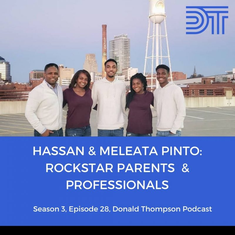 Hassan and Meleata Pinto on the Donald Thompson Podcast