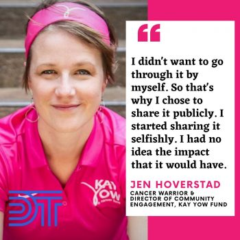 Jen Hoverstad on the Donald Thompson Podcast