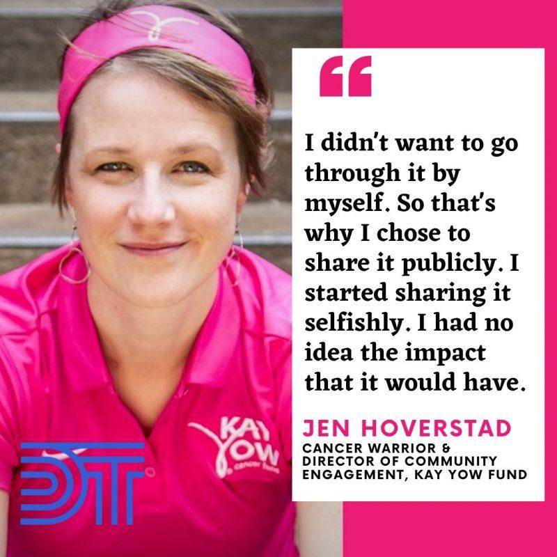 Jen Hoverstad on the Donald Thompson Podcast