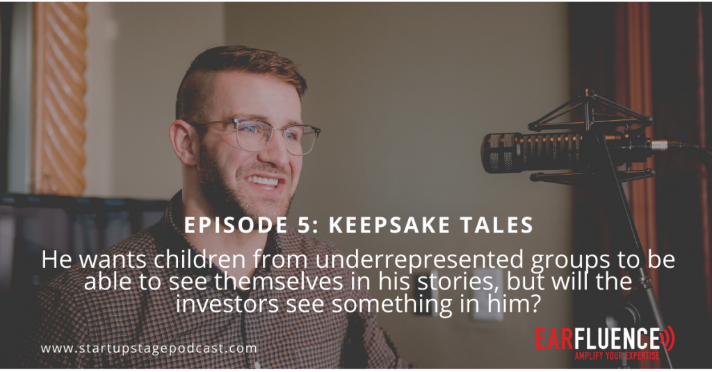 Startup Stage Podcast Mike Vaggalis Keepsake Tales