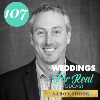 Aaron Shook Sustainability Weddings for Real Podcast