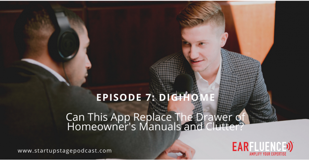 Startup Stage Podcast DigiHome Connor Strickland