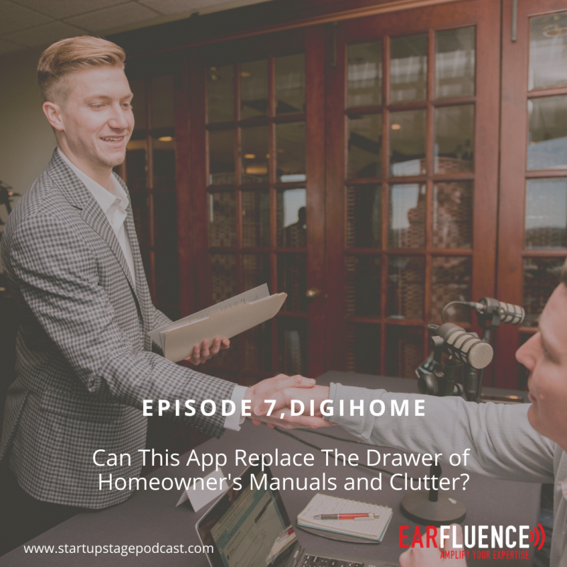 Connor Strickland DigiHome Startup Stage Podcast