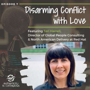 Teri Harrell on Authenticity is Contagious Podcast