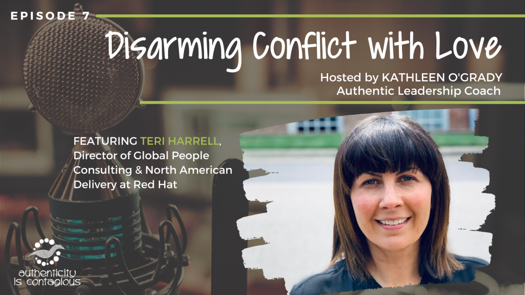 Teri Harrell Red Hat Disarming Conflict with Love