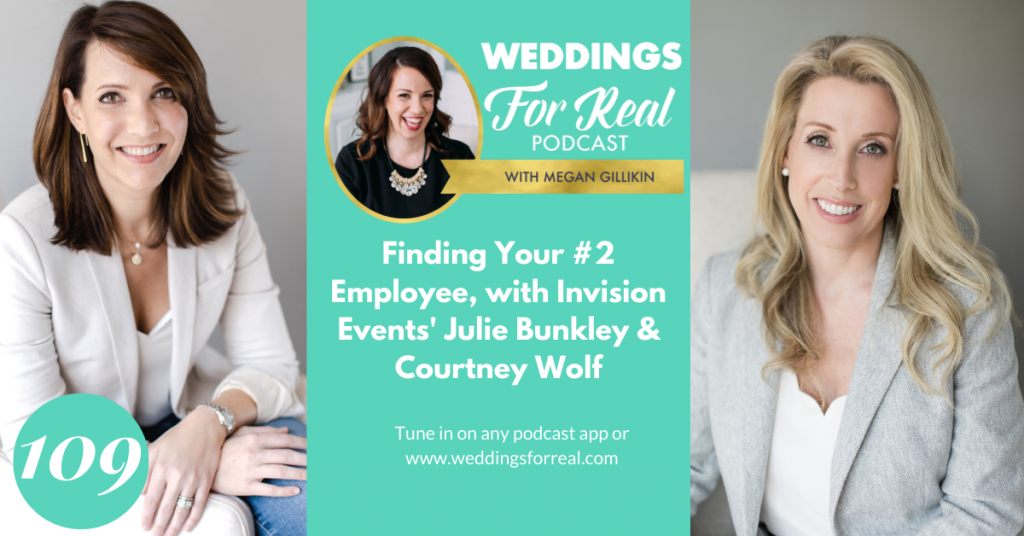 Invision Events Courtney Wolf Julie Bunkley Weddings for Real Podcast