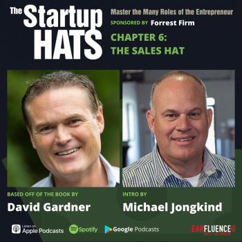 The Sales Hat from The Startup Hats by David Gardner