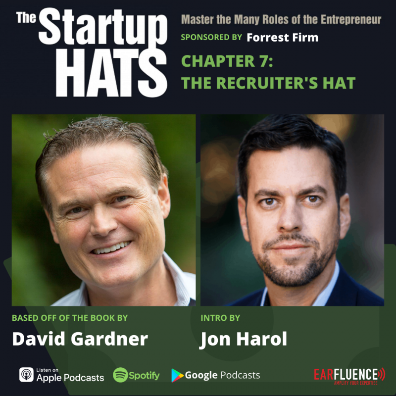 The Startup Hats Chapter 7 The Recruiters Hat