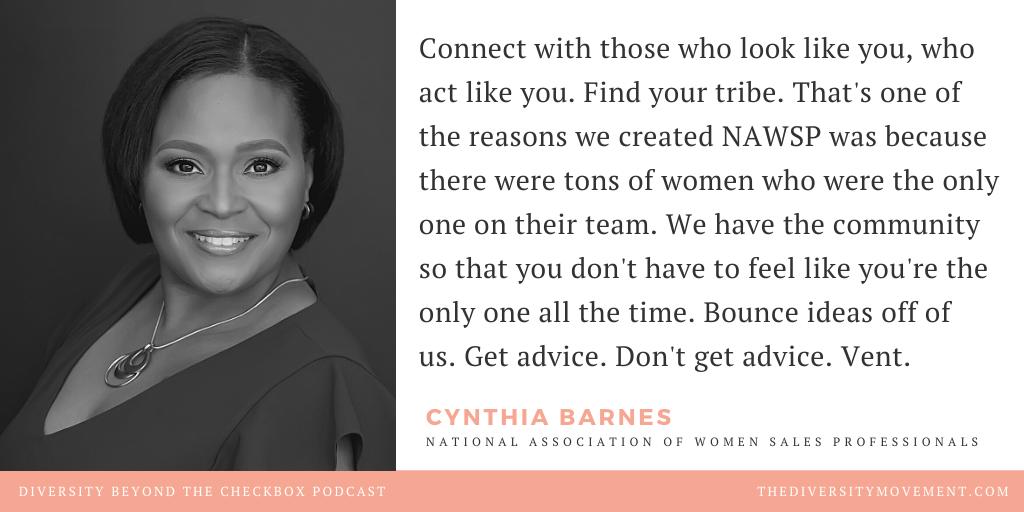 Cynthia Barnes NAWSP Diversity Beyond the Checkbox Podcast