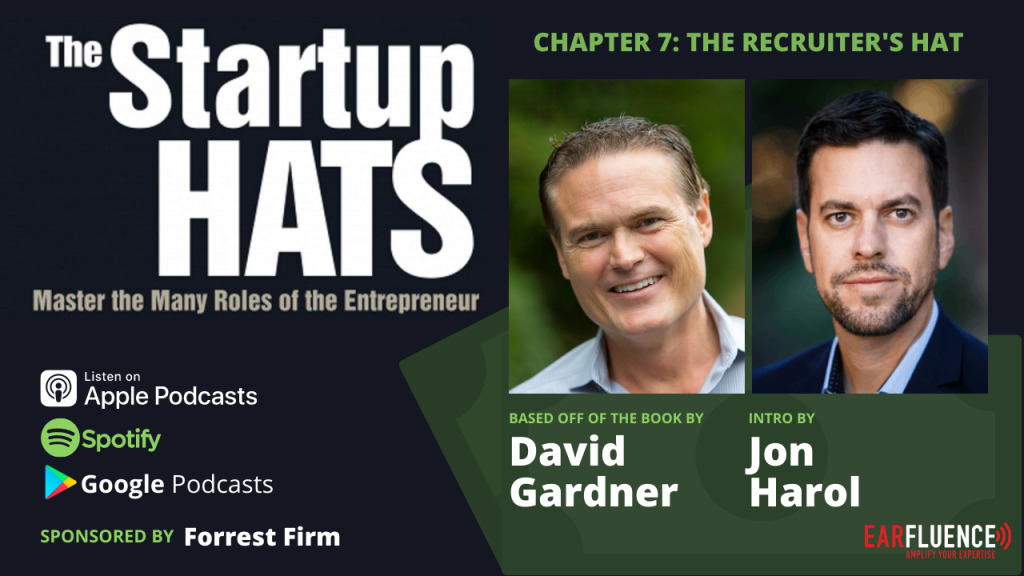 Chapter 7 The Startup Hats by David Gardner