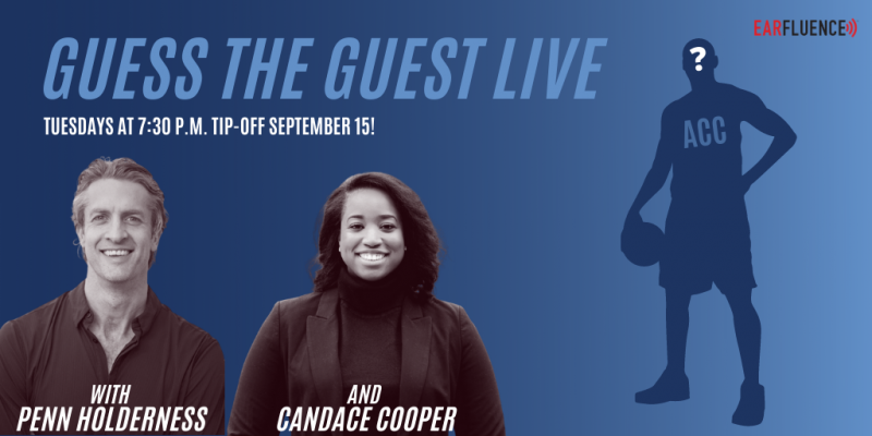 Guess the Guest Live - ACC Basketball with Penn Holderness and Candace Cooper