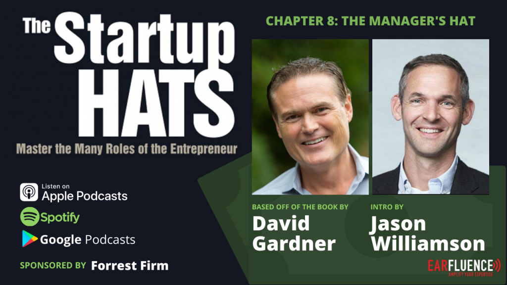 Jason Williamson Oracle for Startups The Startup Hats Chapter 8