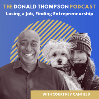Courtney Canfield Pet Influencer on the Donald Thompson Podcast