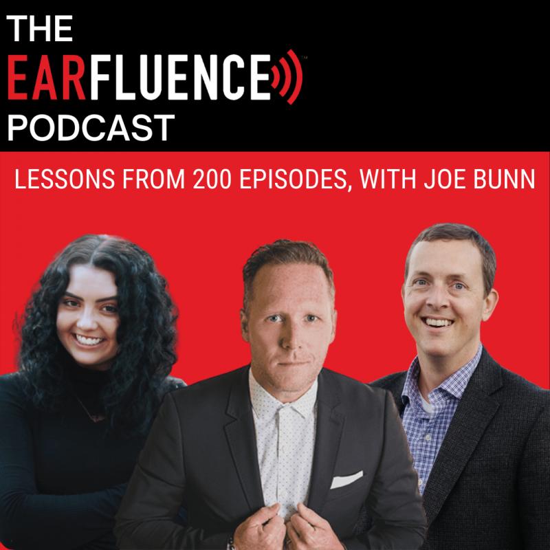 Joe Bunn on the Earfluence Podcast
