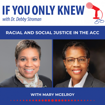 Mary McElroy with Dr Debby Stroman on If You Only Knew Podcast