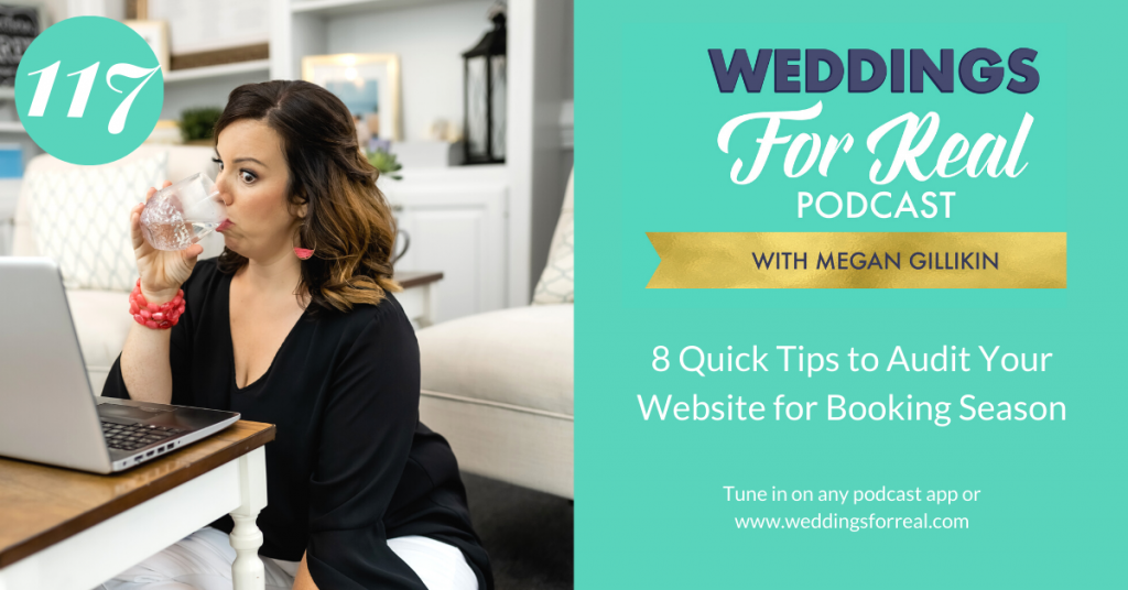 Weddings for Real Megan Gillikin Tips to Audit Your Website