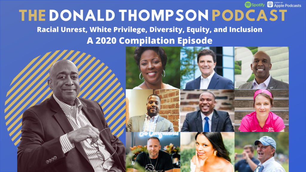 Donald Thompson Podcast Racial Unrest Compilation