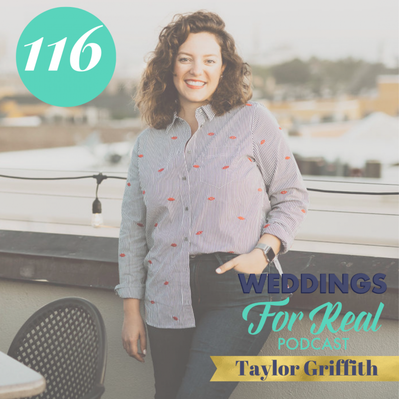Taylor Griffith Lemon Tree Editorial on Weddings for Real Podcast