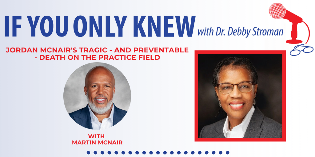 Dr Debby Stroman Podcast with Martin McNair
