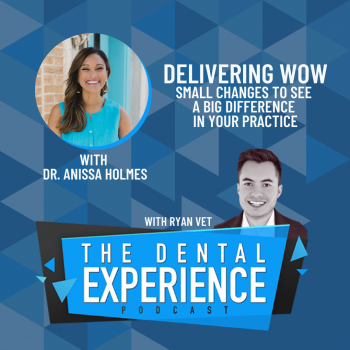 The Dental Experience Podcast Ryan Vet Anissa Holmes
