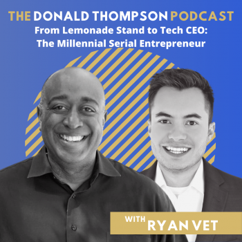 Ryan Vet on the Donald Thompson Podcast