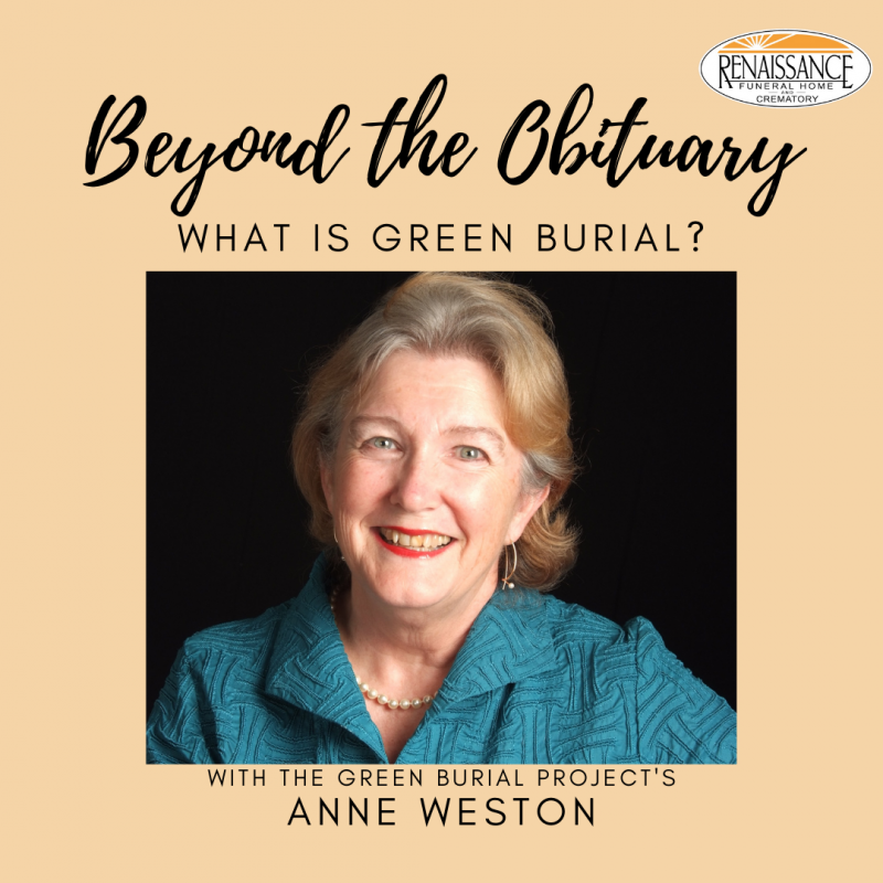 Green Brial Anne Weston Beyond the Obituary Podcast