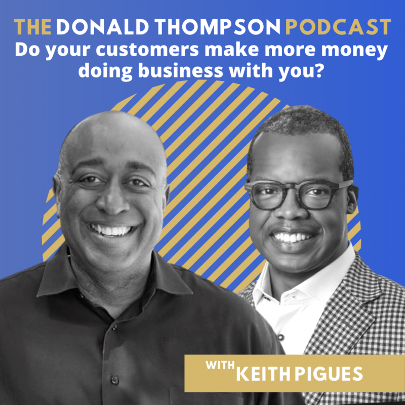 Keith Pigues Donald Thompson Podcast