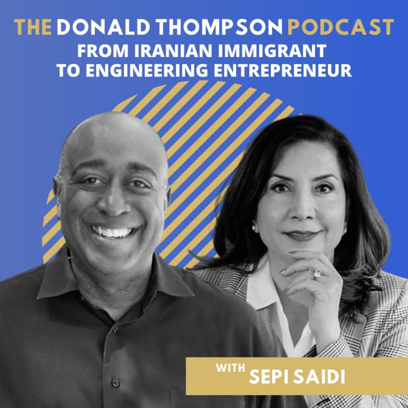 Sepi Saidi Donald Thompson Podcast