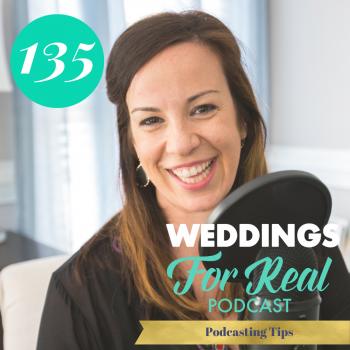 Podcasting Weddings for Real Megan Jason Gillikin